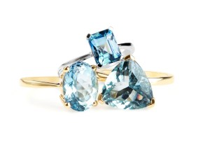 Say Hello to Blue Hues Rings