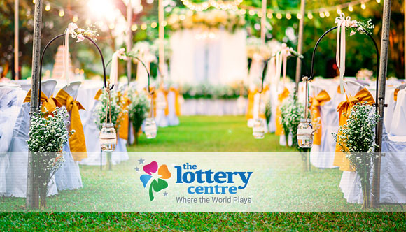 The Lottery Centre wants you to have the perfect wedding