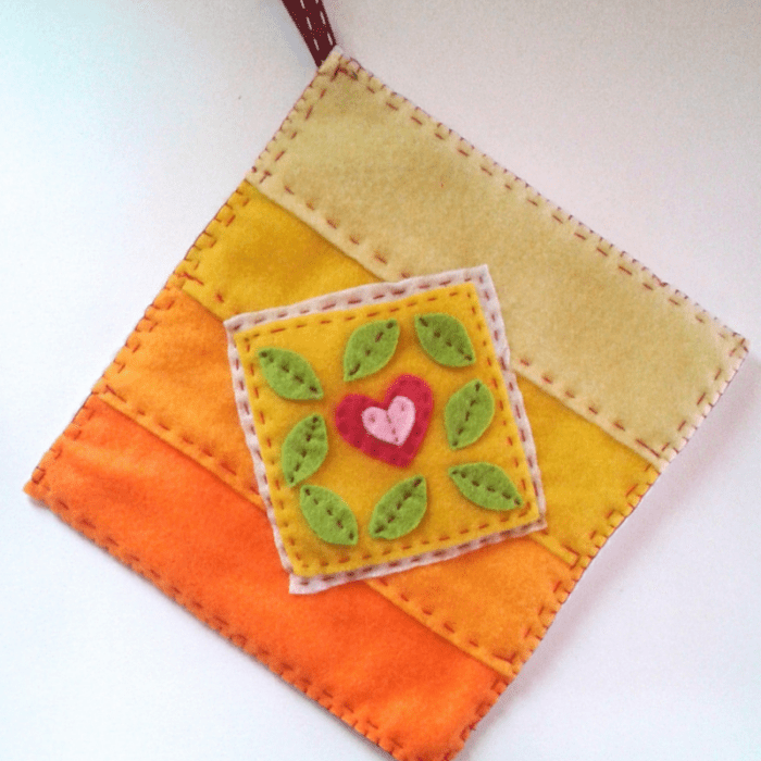 Felt Pot Holder Tutorial