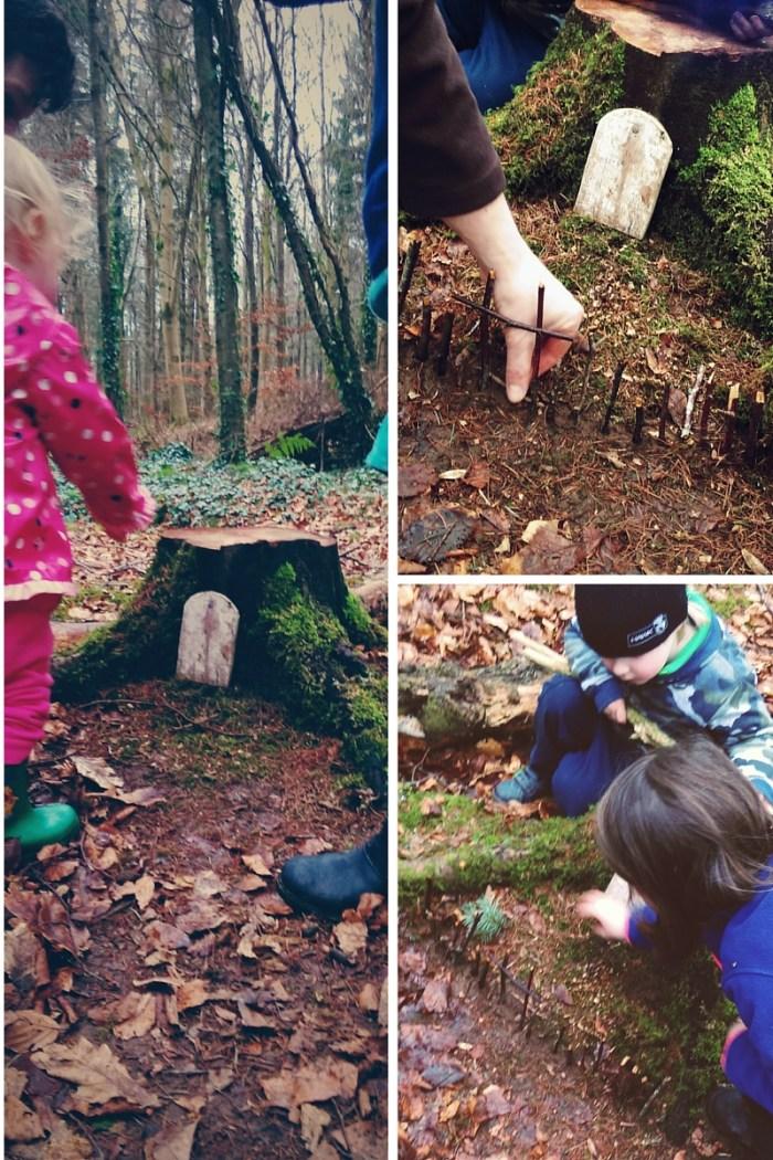 Fairy door in the woods 1