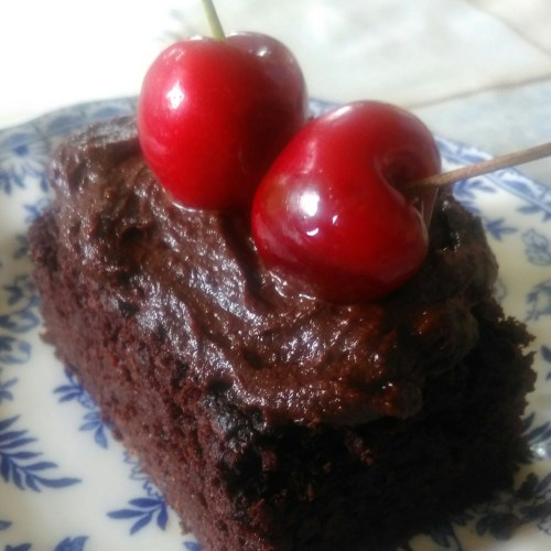 Sugar, dairy and grain free choc cake 2