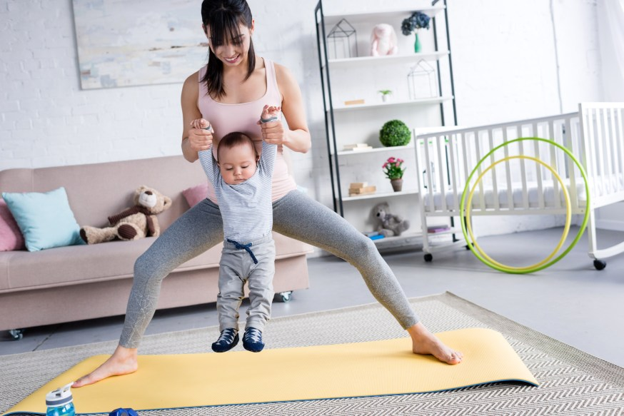 physical therapy postpartum new mom