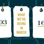 What We're Doing: March