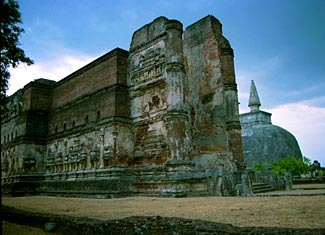 The ruins of Polonnaruwa, the ancient capital of Sri Lanka 1100 years ago and now one of 6 World Heritage sites in Sri Lanka.  Our tour visits all six.