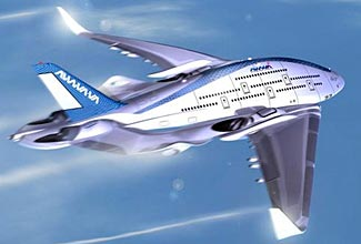 Continuing our theme of airplane design innovation, here's the Sky Whale (see article below).