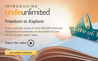 Amazon's New 'Kindle Unlimited' eBook Reading Service