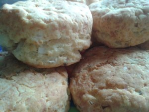 Cheese, Sage and Onion Savoury Scones