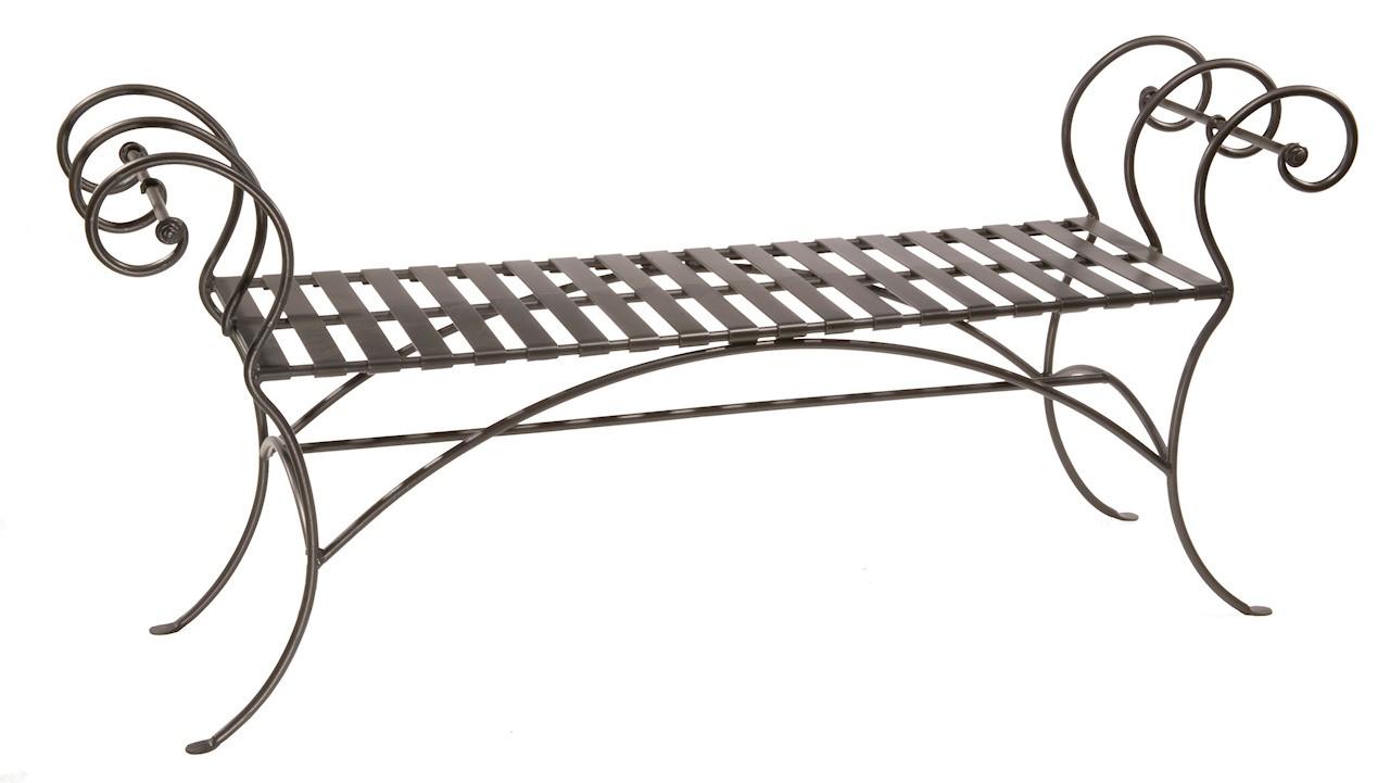 Fullsize Of Wrought Iron Bench