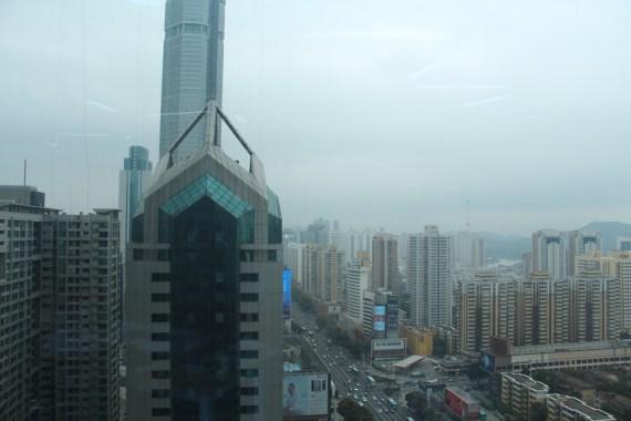 Shenzhen skyscrapers