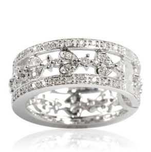 ILIANA Diamond 18K W Gold Ring