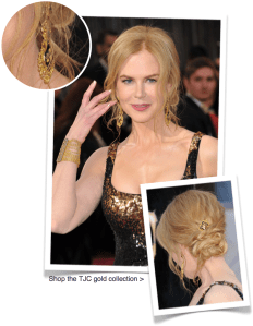 Nicole Kidman goes for gold