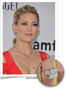 Kate Hudson, diamond ring