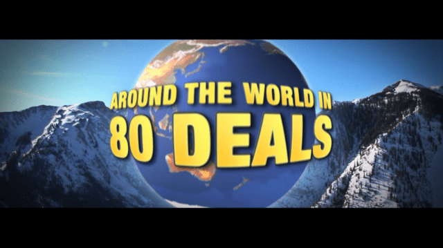 Around the world in 80 deals