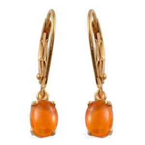 Make a statement with orange jewellery for October 31st