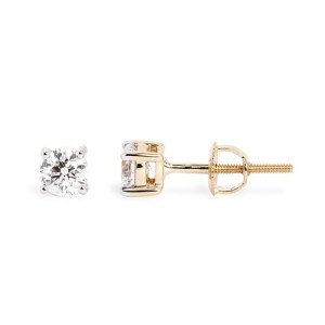 Diamond earrings are a beautiful option for any proposal