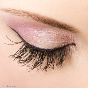 Put a twist on smoky eyes with soft pastels