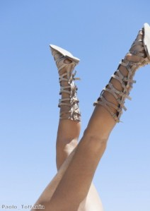 Mix up your look with statement gladiator sandals