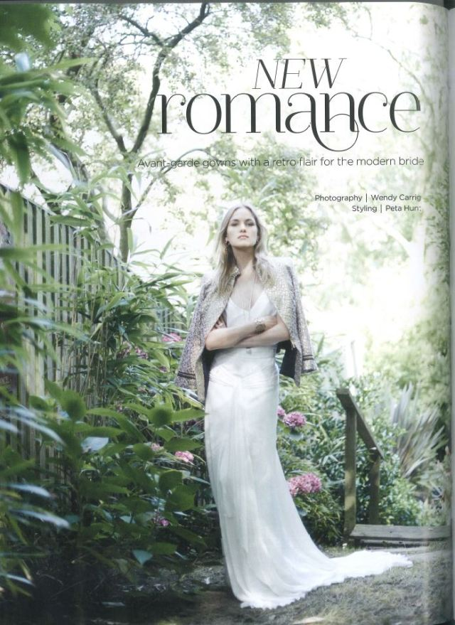 New Romance - Modern Bride - Bloomin Lovely March April 2015