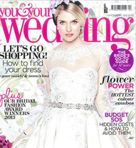 Modern Bride at You and Your Wedding Cover Photo