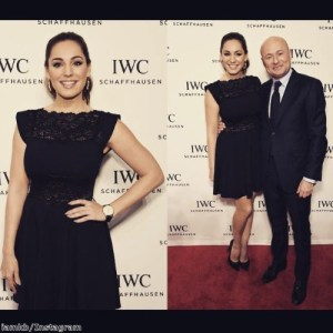 Kelly Brook wowed in a classic LBD