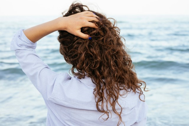 Get perfect beachy waves in a flash