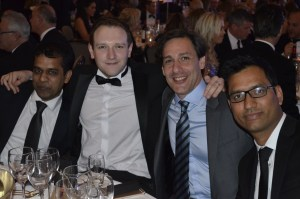 TJC at the UK Jewellery Awards: Amit, Derek, Roberto and Deepak