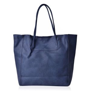 Navy City Tote