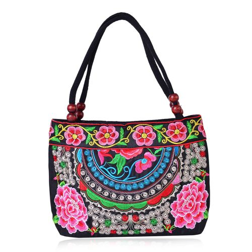 TJC Embroidered tote bag