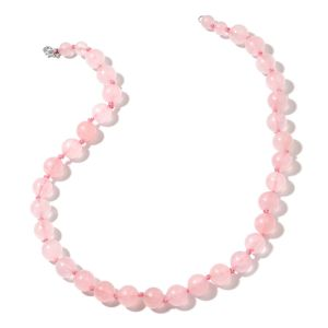 Galilea Rose Quartz Graduated Necklace