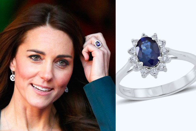 Kate Middleton engagement ring on TJC