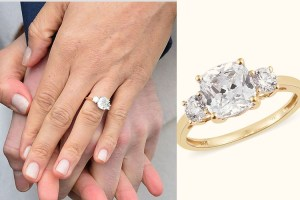 Meghan Markle Engagement ring on TJC