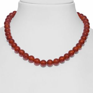 309 Carat Extremely Rare AAA Carnelian Beads Necklace