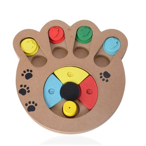 Multi Colour Pet IQ Training Toy