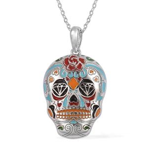 TJC pendant with enamelling