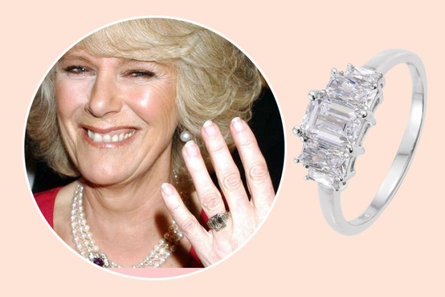 Duchess Camilla's royal engagement rings design at TJC