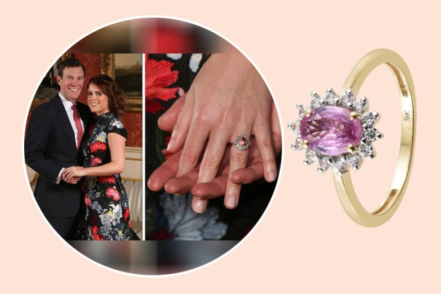 Princess Eugenie's ring design at TJC