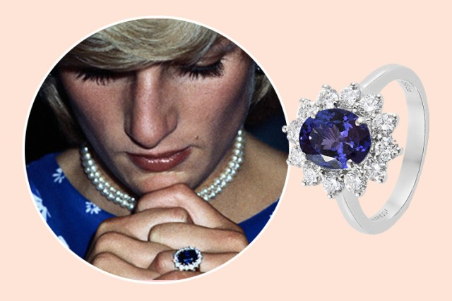 Princess Diana's royal engagement ring design at TJC