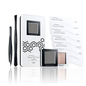 Beautiful Brows: Duo Brow Kit Slate (With free Brow Refill)