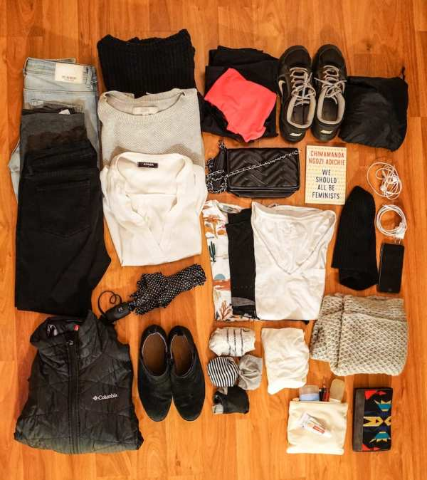 New york winter packing list