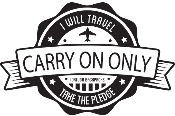 Carry On Only Pledge badge