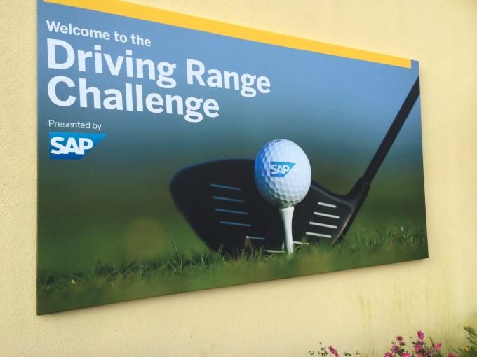 Driving Challenge Solheim Cup Event SAP