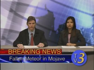 War of the Worlds Breaking News Anchors