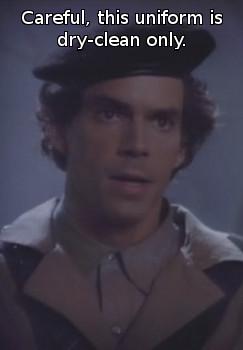 Raymond O'Neill as Elzar in Captain Power
