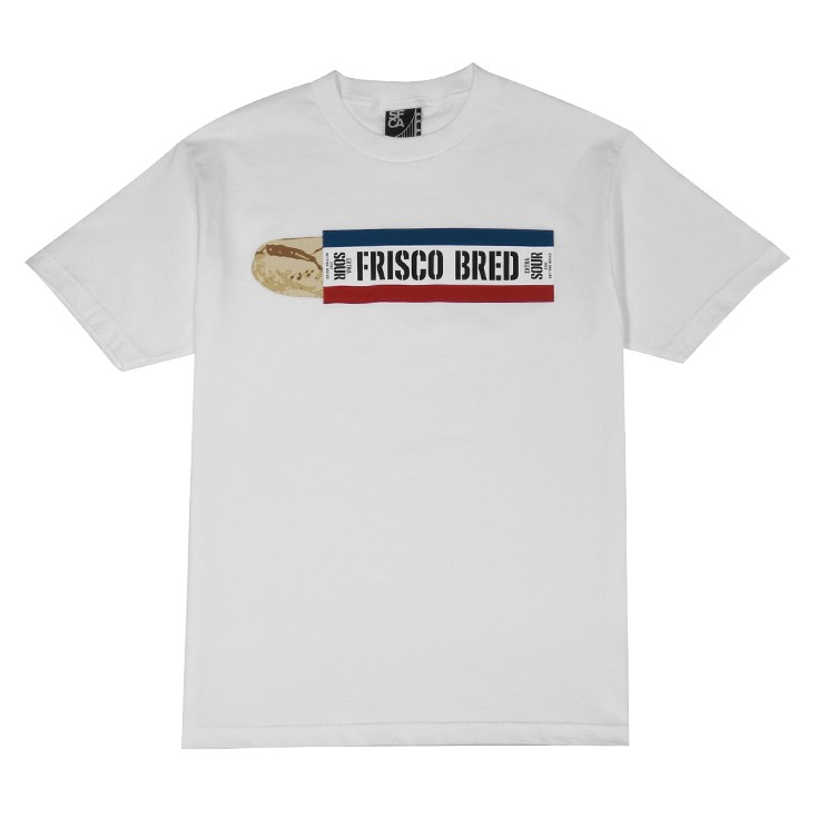 Mens SFCA Frisco Bred T-Shirt White