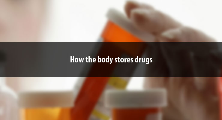 How the body stores drugs