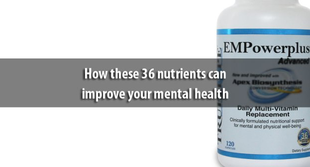 How these 36 nutrients can improve your mental health