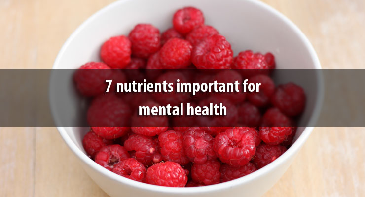 7 nutrients important for mental health