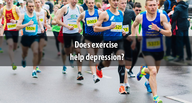 Does exercise help depression?