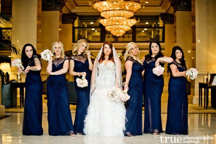bridesmaid dresses color style popular fashions navy blue wedding dress Blue Bridesmaids Dresses