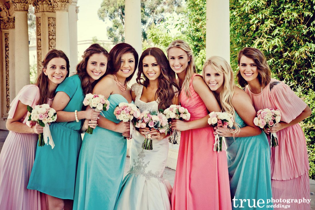 bridesmaid dresses color style popular fashions color wedding dresses Multi Colored Bridesmaids Dresses